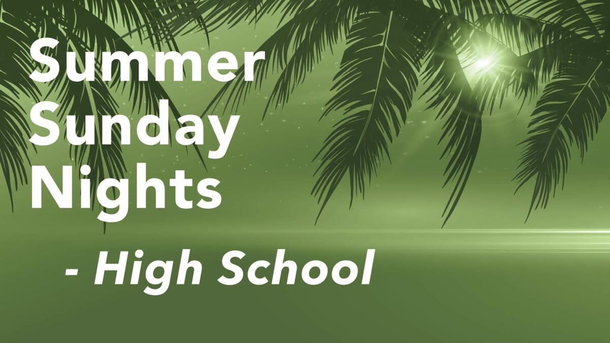 Summer Sunday Nights