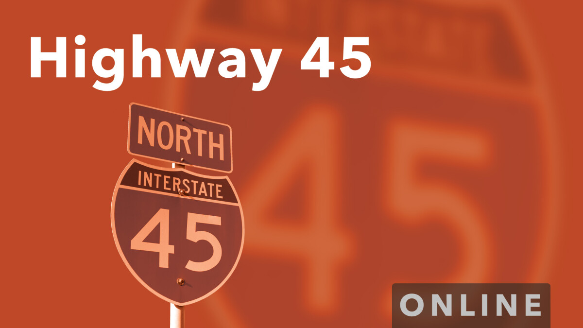 Highway 45 at Home
