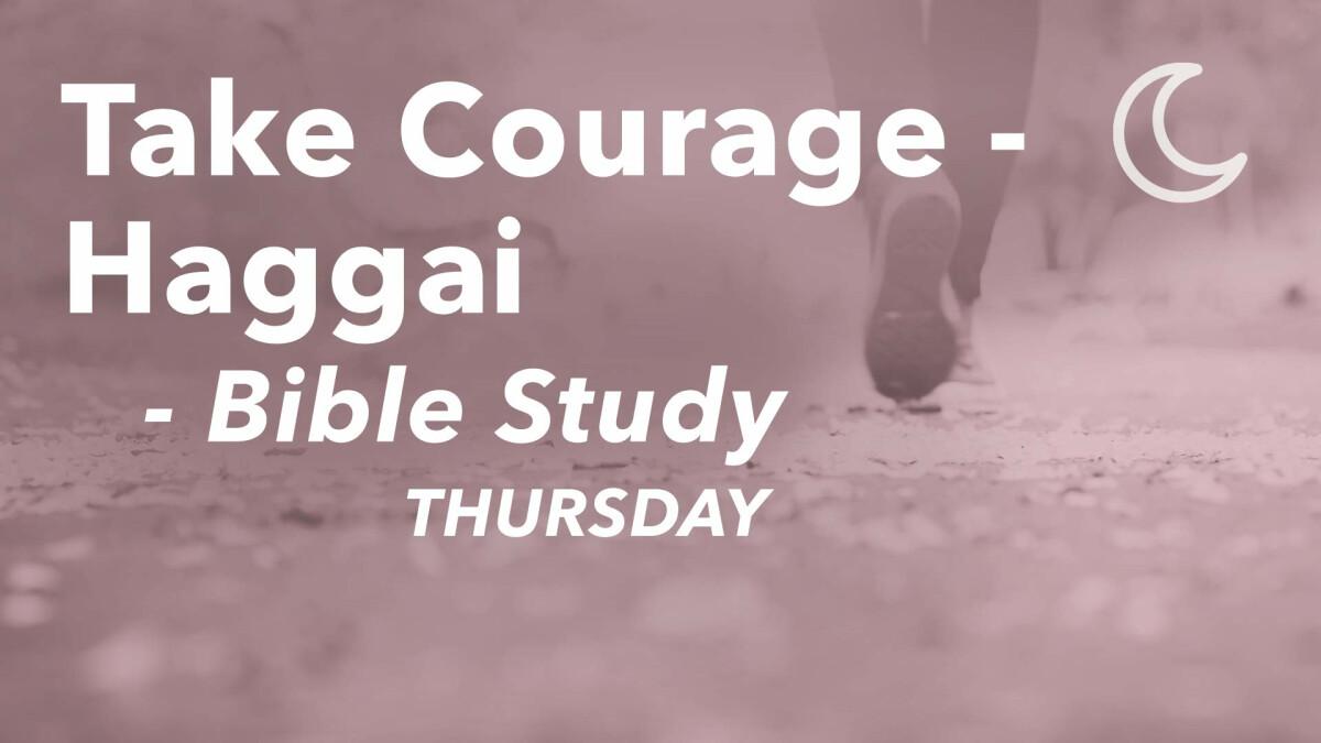 Women's Ministry: Haggai Mini Series (Thursdays)