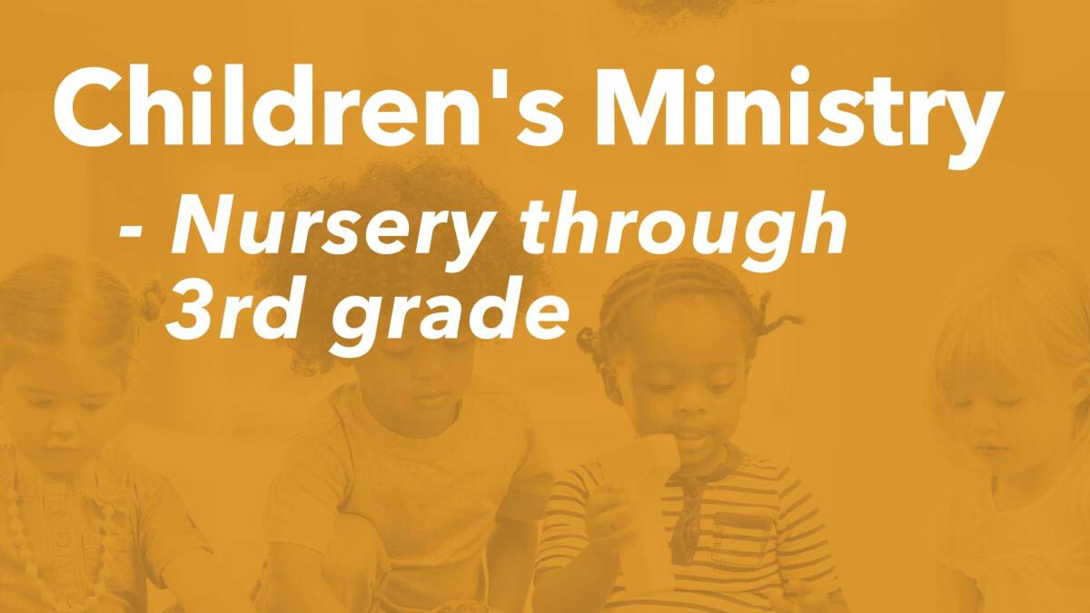 Children's Ministry (10:45 AM)