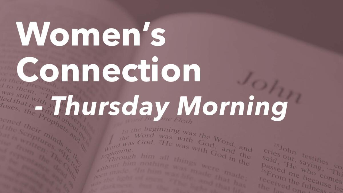 Women's Connection (Thursday Mornings Online)